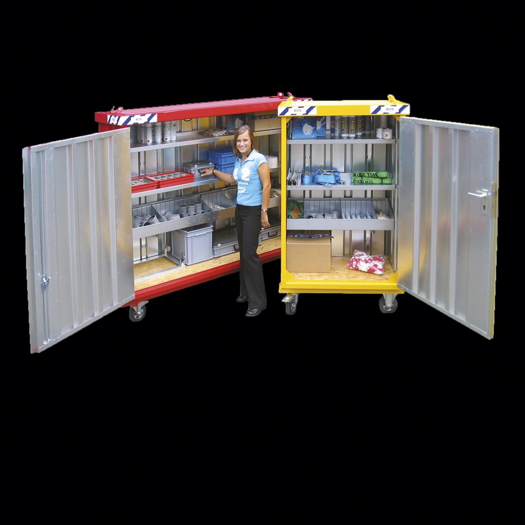0.7 x 1.1 x 1.6 meters Mobil box MB1. Kr 14900,-