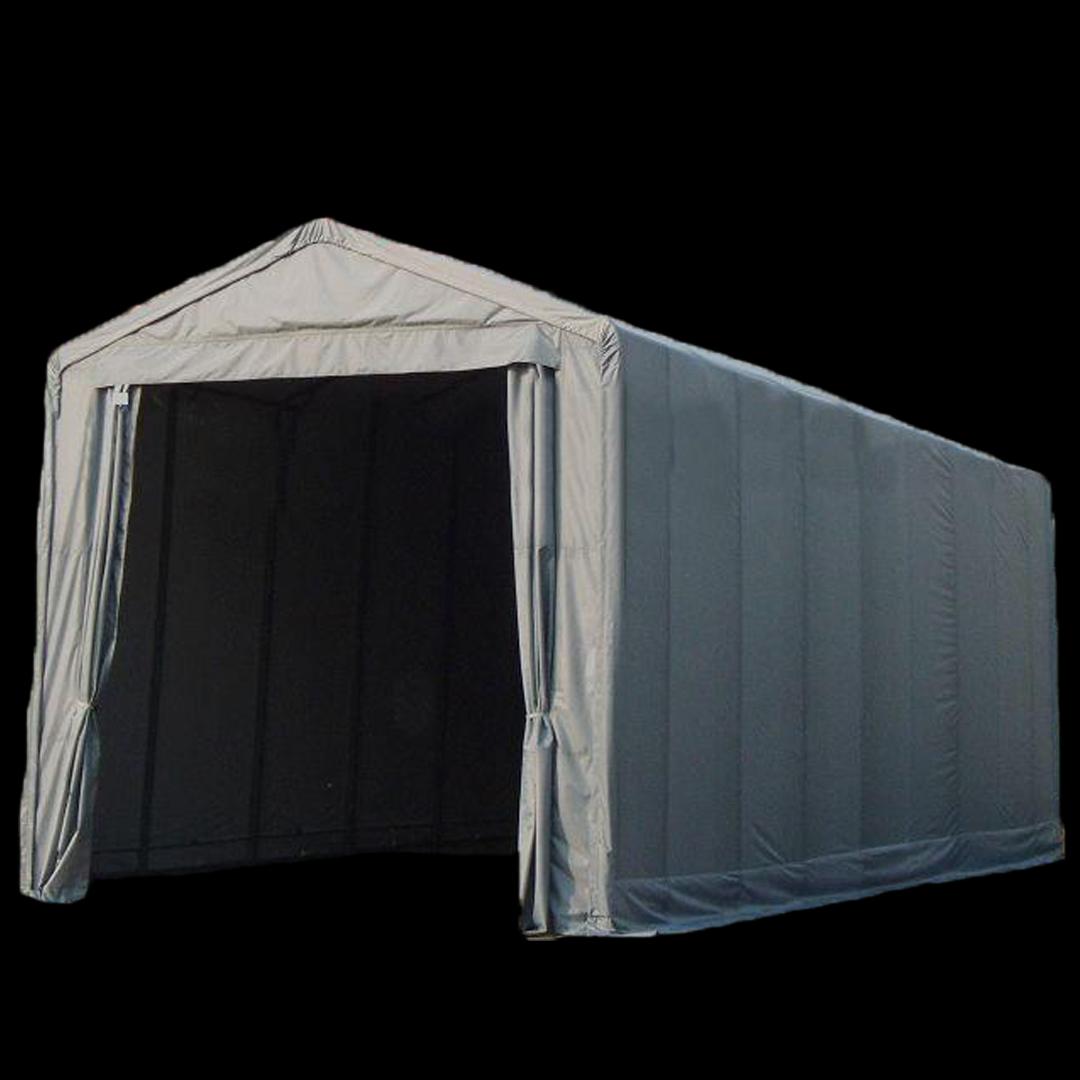 12,0 x 5,0 x 5,2 meters telt. PVC duk. Kr 38900,-