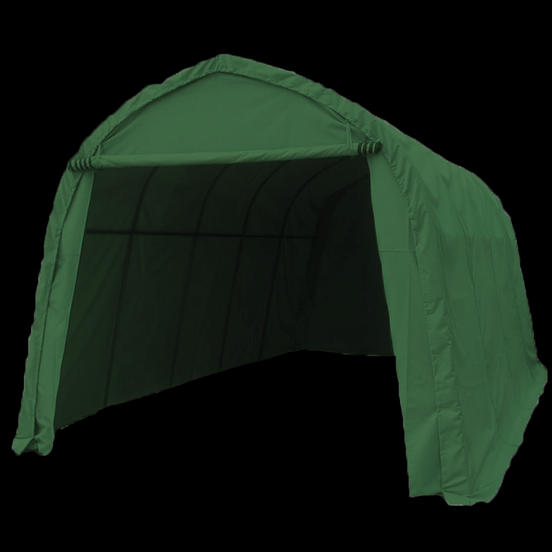 5,1 x 2,7 x 2,35 meters telt. PE duk. Kr 4500,-