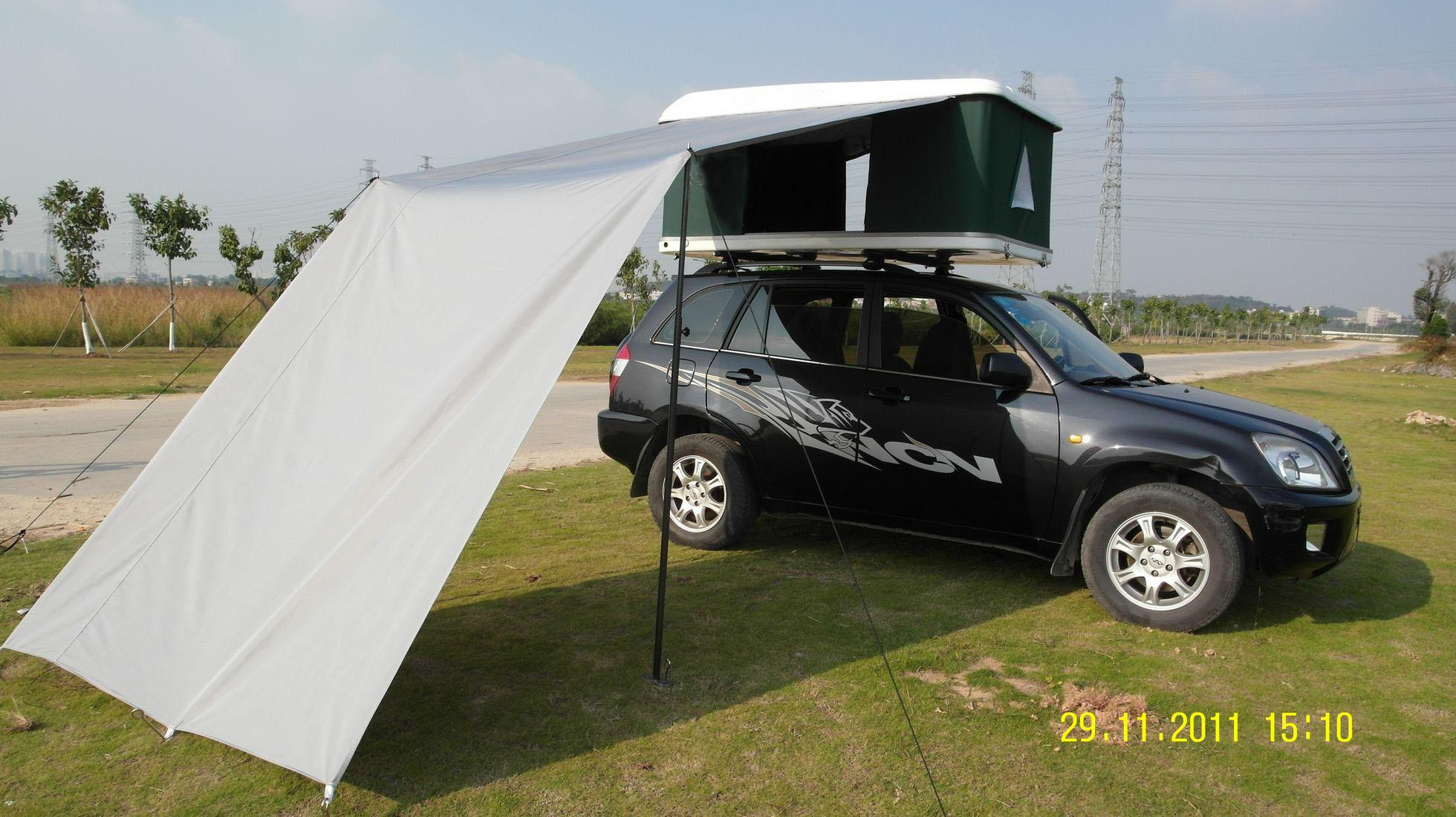 Тент на багажник на крышу автомобиля своими руками