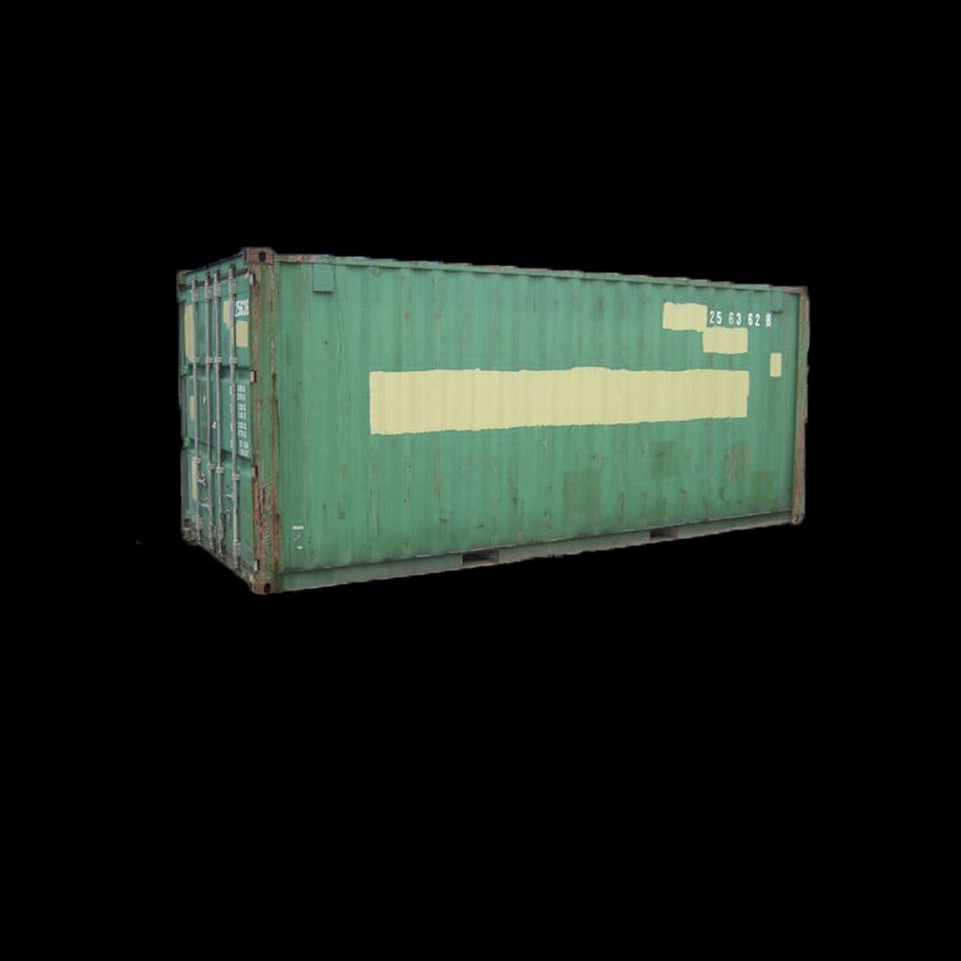 Brukt 20 fots Container.
