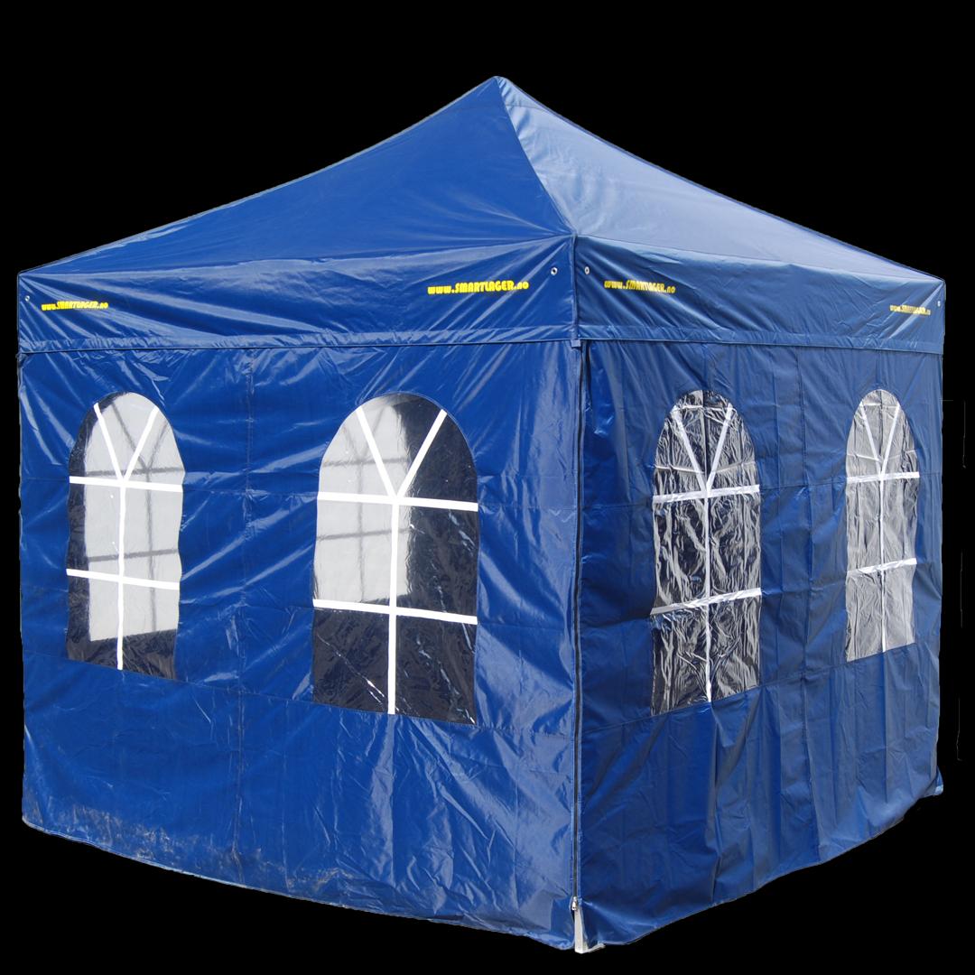 Vegger til 4 x 8 meters Quick up / Easy up telt. Kr 400,-