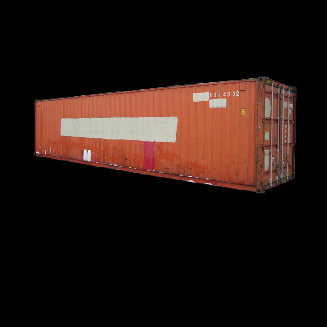 Brukt 40 fots container. High cube.