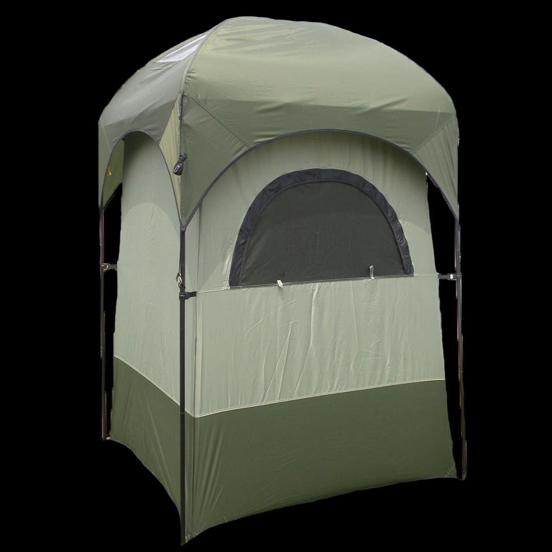 Portabelt dusj-garderobe-toalett telt. Kr 1200,-
