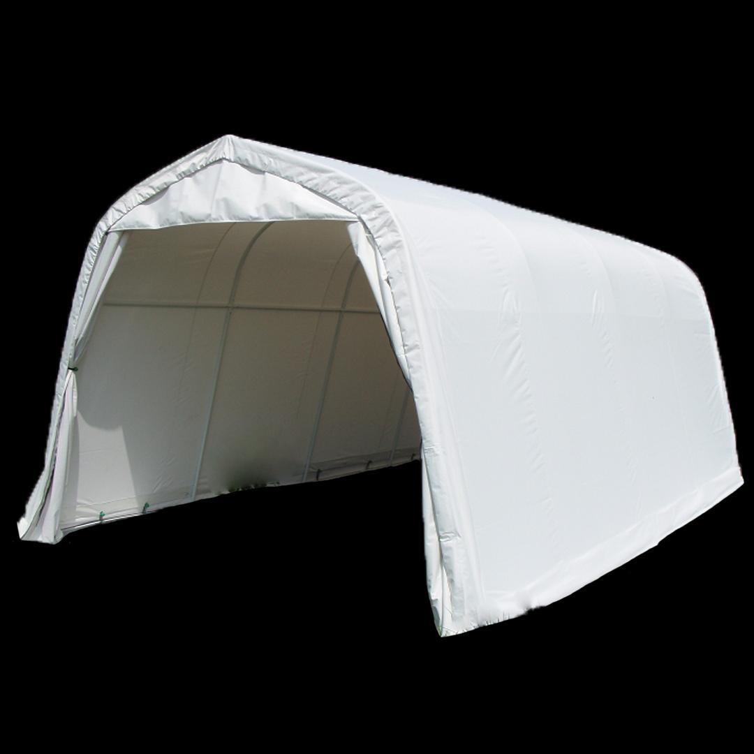 4,0 x 2,5 x 2,3 meters telt. PVC duk. Kr 4500,-