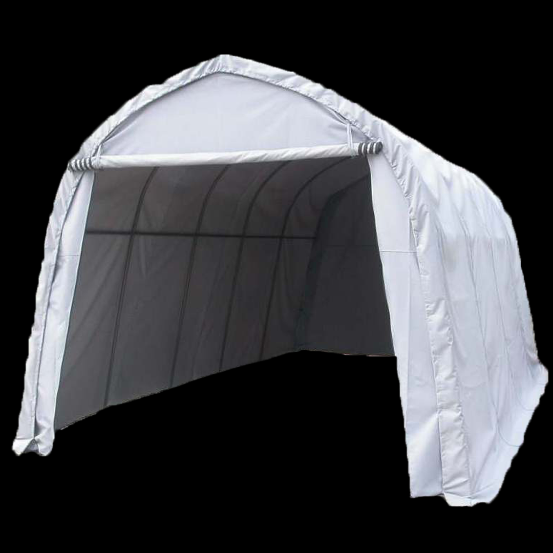 7,1 x 3,66 x 2,75 meters telt. PVC duk. Kr 9500,-