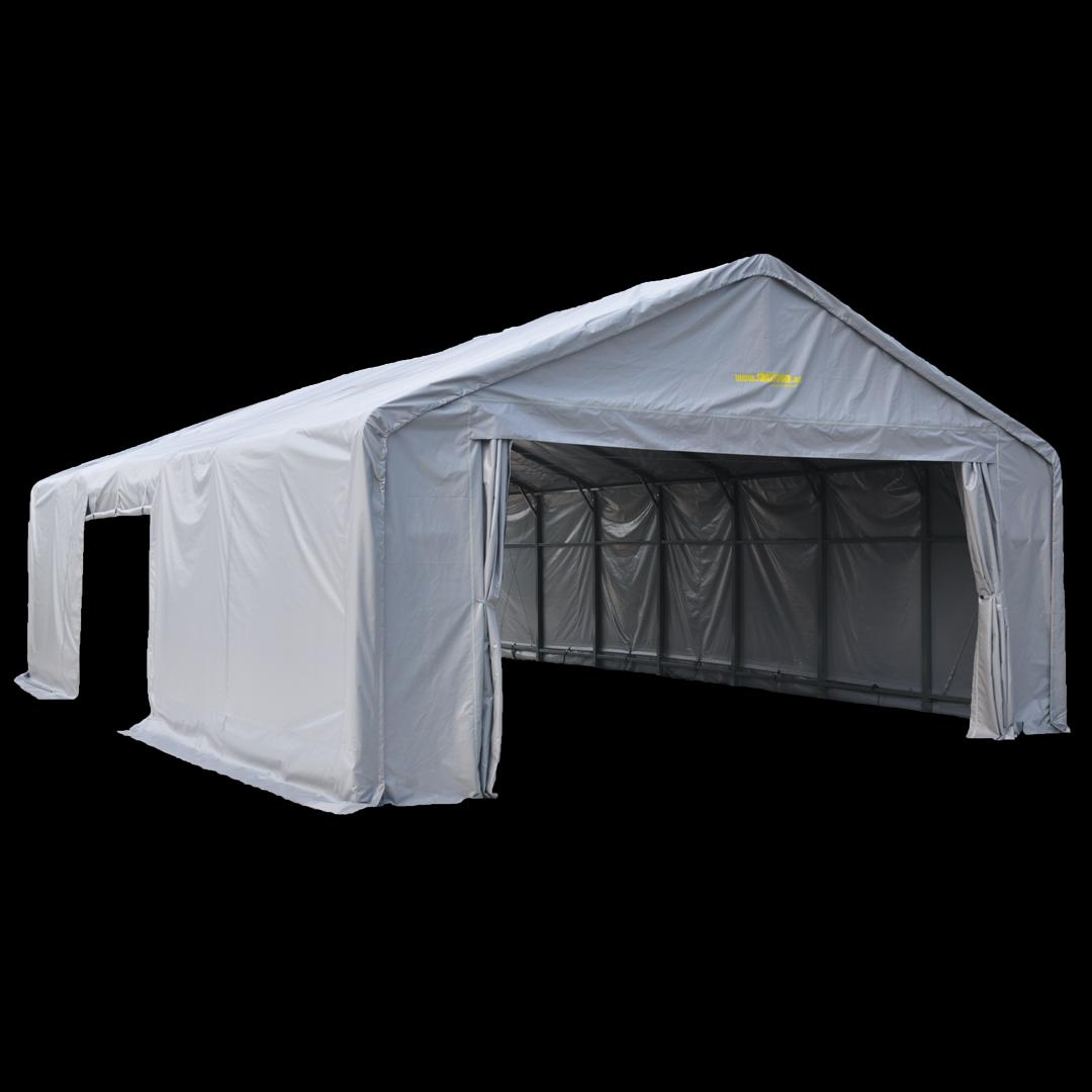 12,0 x 8,0 x 4,5 meters telt. PVC duk. Kr 55000,-