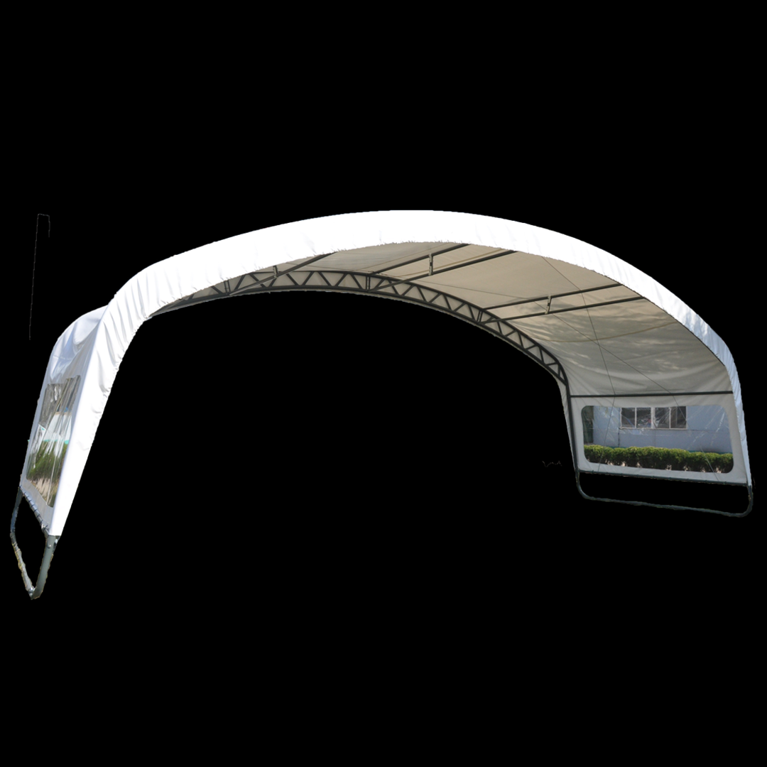 3,66 x 10,0 x 3,66 meters telt. PVC duk . Kr 14500,-
