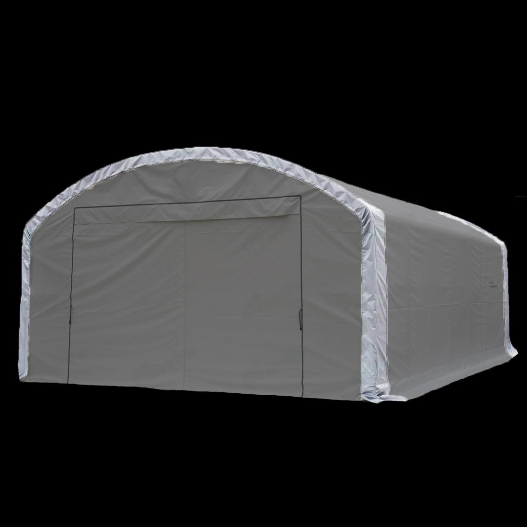 12,2 x 7,6 x 4,6 meters telt. PVC duk. Kr 37900,-