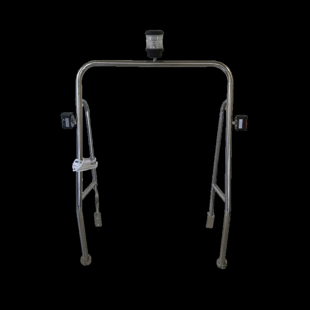 Targabøyle inkl lanterner.Kr 2640,-